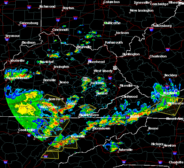 Radar Image for Severe Thunderstorms near Loyall, KY at 8/8/2018 2:35 PM EDT