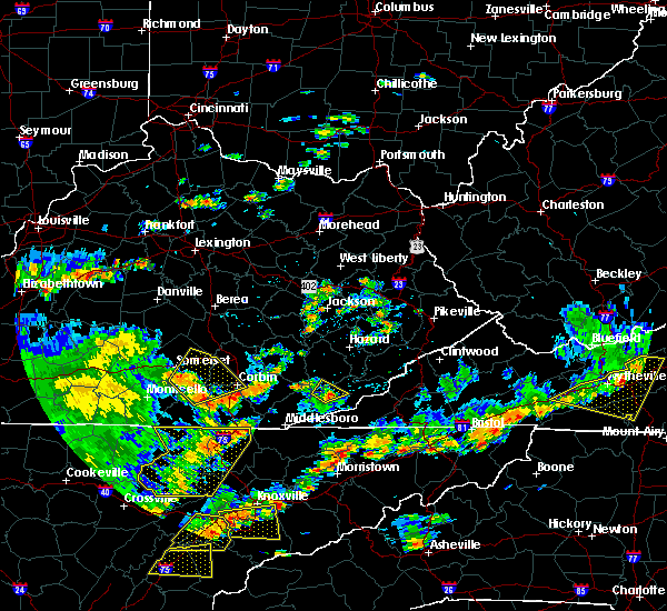 Radar Image for Severe Thunderstorms near Burnside, KY at 8/8/2018 2:41 PM EDT