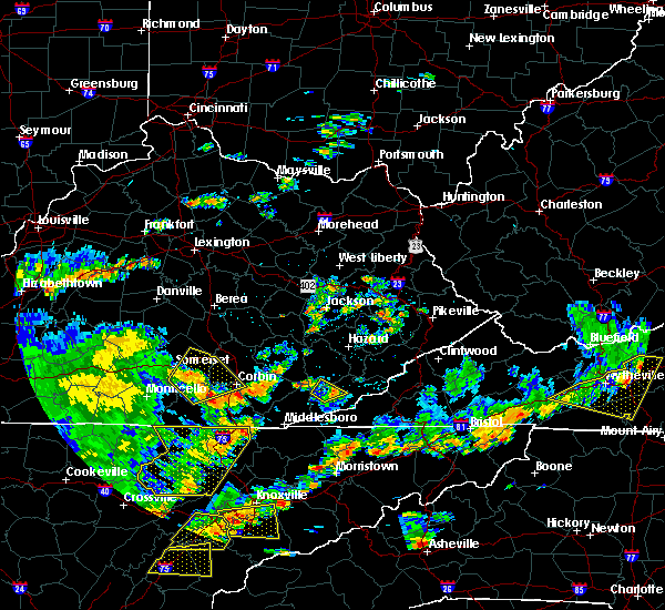 Radar Image for Severe Thunderstorms near Loyall, KY at 8/8/2018 2:44 PM EDT