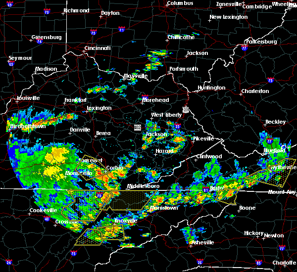 Radar Image for Severe Thunderstorms near Burnside, KY at 8/8/2018 2:57 PM EDT