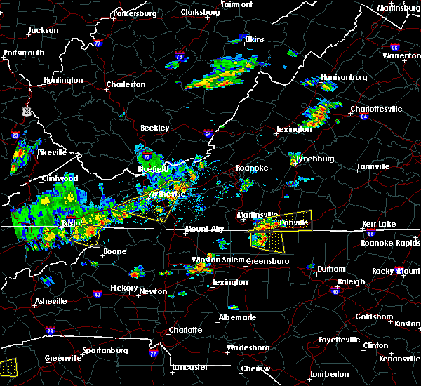 Radar Image for Severe Thunderstorms near Eden, NC at 8/8/2018 3:00 PM EDT