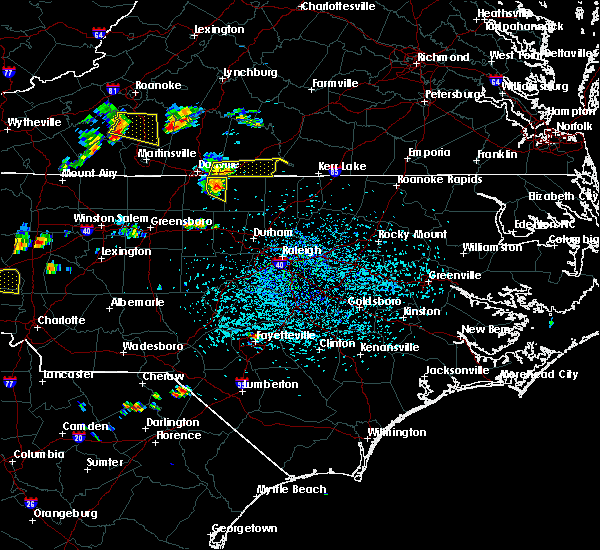 Radar Image for Severe Thunderstorms near Virgilina, VA at 8/8/2018 3:56 PM EDT