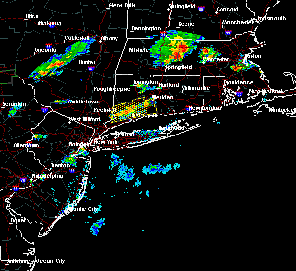 Radar Image for Severe Thunderstorms near Cheshire Village, CT at 8/8/2018 6:22 PM EDT