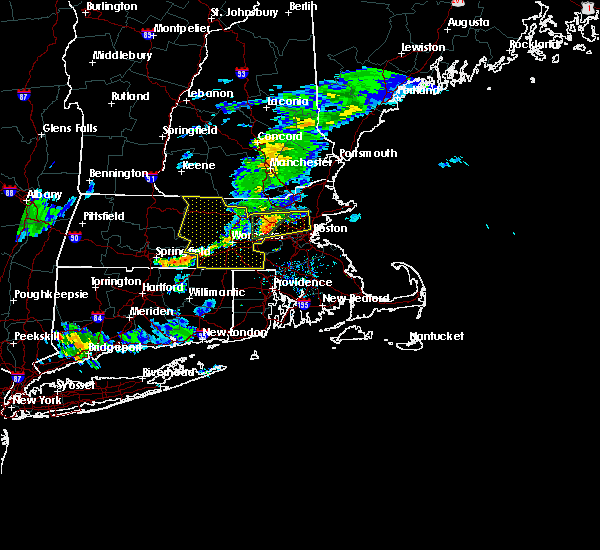 Radar Image for Severe Thunderstorms near Melrose, MA at 8/8/2018 7:54 PM EDT