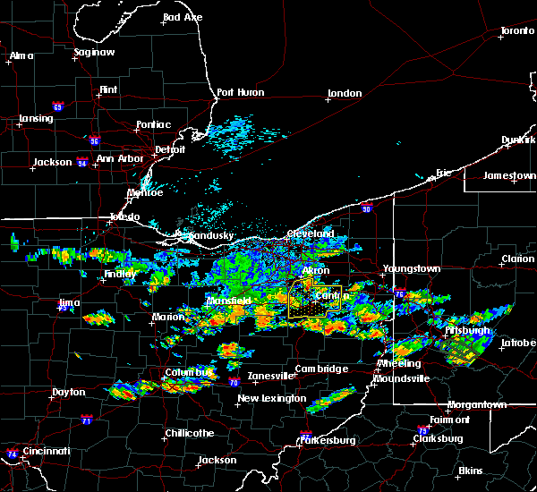 Radar Image for Severe Thunderstorms near Massillon, OH at 8/10/2018 3:35 PM EDT