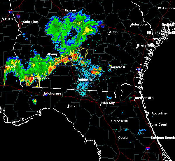 Radar Image for Severe Thunderstorms near Fitzgerald, GA at 8/10/2018 8:25 PM EDT