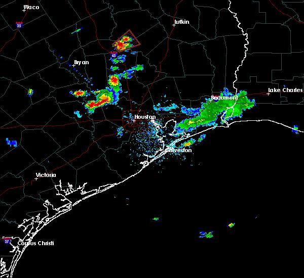 Radar Image for Severe Thunderstorms near Lovelady, TX at 8/10/2018 8:11 PM CDT