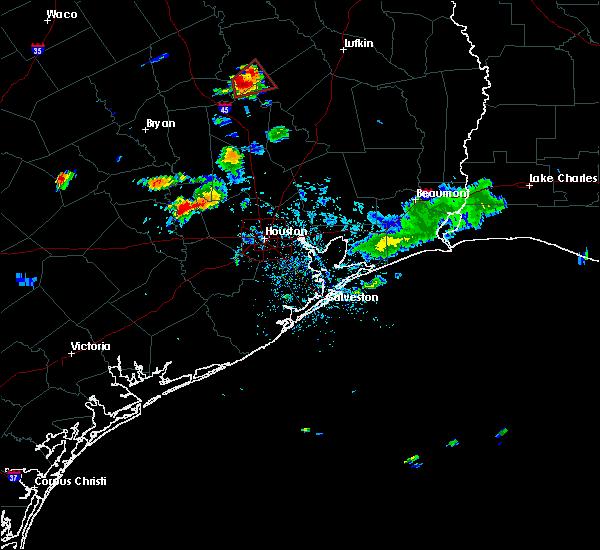 Radar Image for Severe Thunderstorms near Lovelady, TX at 8/10/2018 8:23 PM CDT