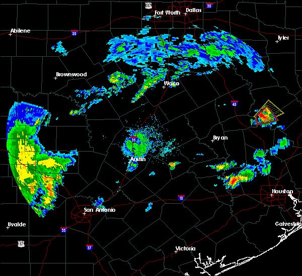 Radar Image for Severe Thunderstorms near Lovelady, TX at 8/10/2018 8:30 PM CDT