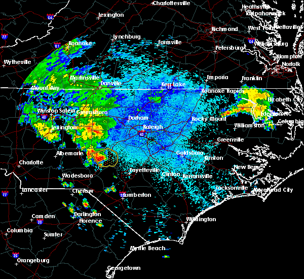 Interactive Hail Maps Hail Map For Southern Pines Nc