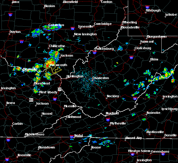 Radar Image for Severe Thunderstorms near South Shore, KY at 8/11/2018 1:07 PM EDT