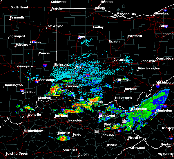 Radar Image for Severe Thunderstorms near Rising Sun, IN at 8/11/2018 5:25 PM EDT