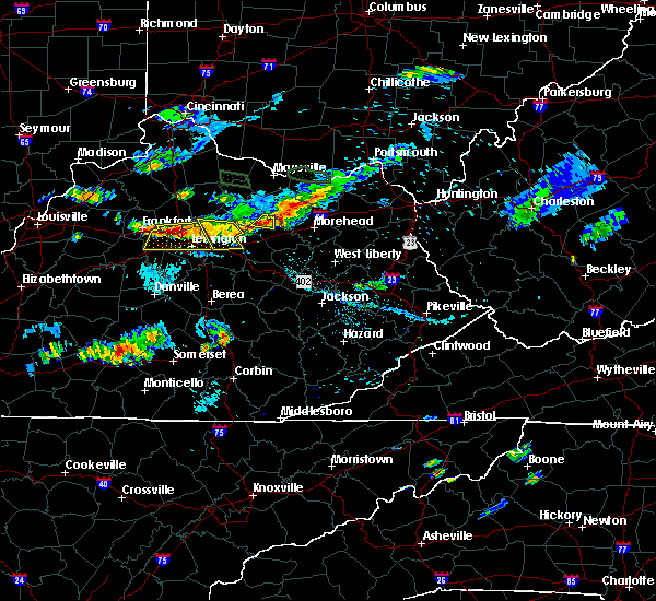Radar Image for Severe Thunderstorms near Georgetown, KY at 8/11/2018 6:30 PM EDT