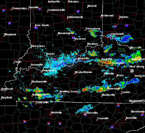 Radar Image for Severe Thunderstorms near Midway, KY at 8/11/2018 6:52 PM EDT