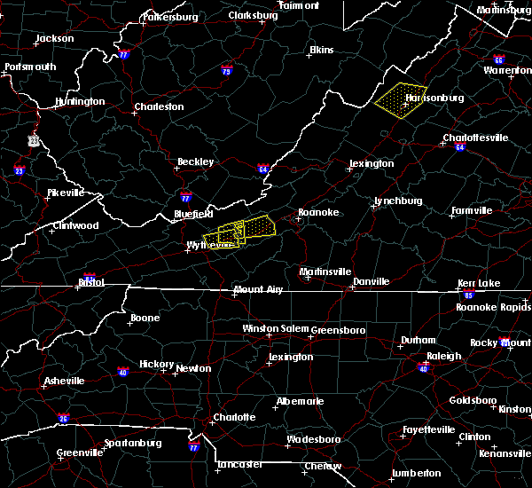Radar Image for Severe Thunderstorms near Hiwassee, VA at 8/12/2018 1:41 PM EDT