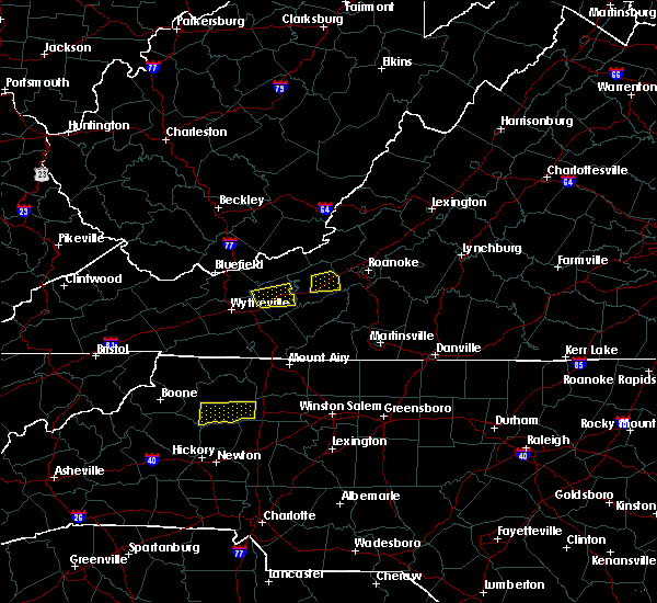Radar Image for Severe Thunderstorms near North Wilkesboro, NC at 8/12/2018 1:55 PM EDT