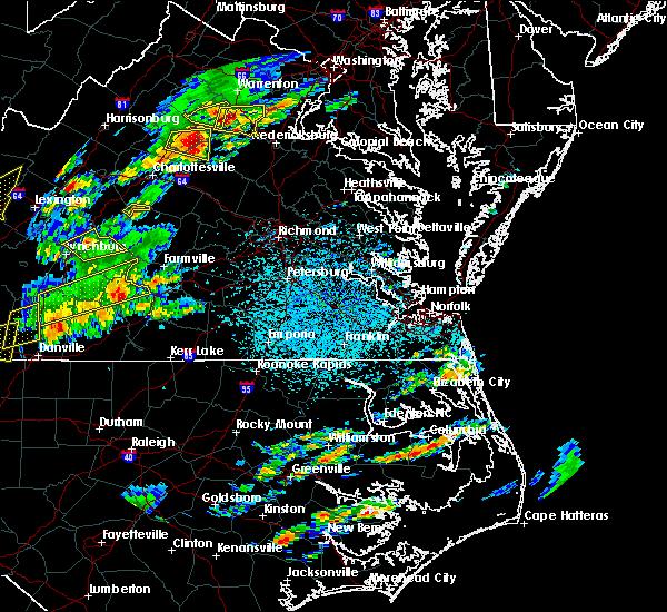 Radar Image for Severe Thunderstorms near Esmont, VA at 8/12/2018 3:00 PM EDT