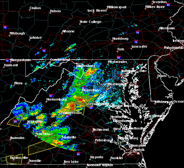 Radar Image for Severe Thunderstorms near Lake Wilderness, VA at 8/12/2018 3:09 PM EDT