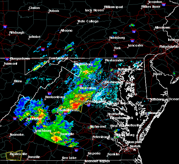 Radar Image for Severe Thunderstorms near Lake Wilderness, VA at 8/12/2018 3:28 PM EDT