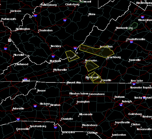 Radar Image for Severe Thunderstorms near Blairs, VA at 8/13/2018 4:59 PM EDT
