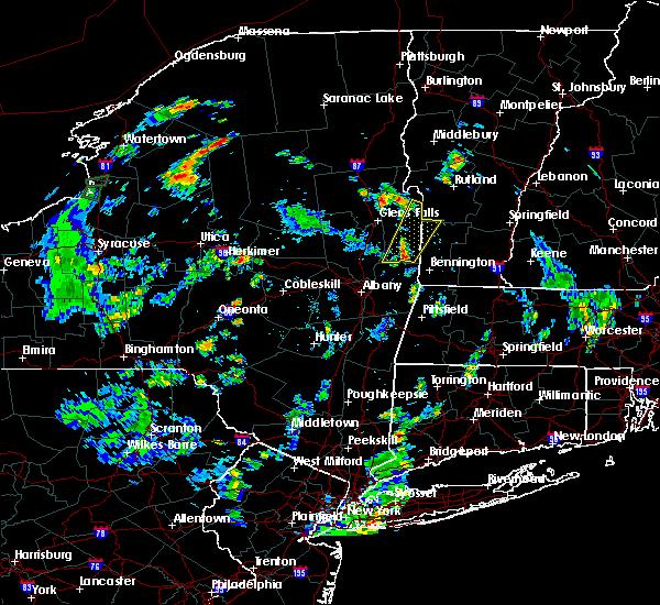 Radar Image for Severe Thunderstorms near Salem, NY at 8/14/2018 5:11 PM EDT