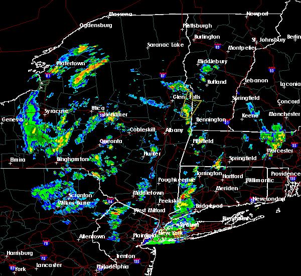 Radar Image for Severe Thunderstorms near Salem, NY at 8/14/2018 5:33 PM EDT