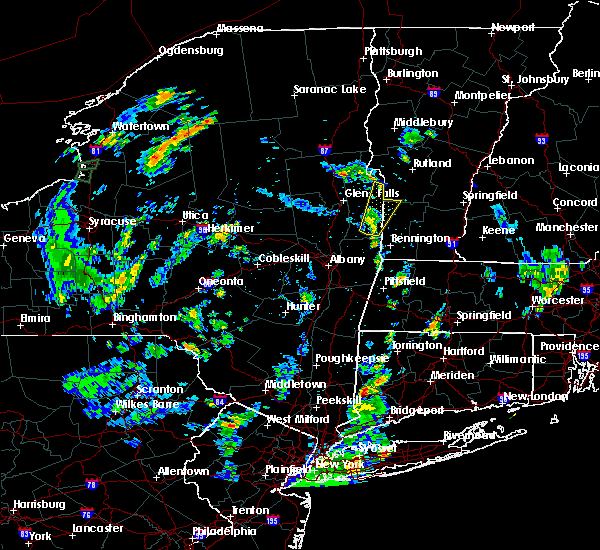 Radar Image for Severe Thunderstorms near Salem, NY at 8/14/2018 5:34 PM EDT