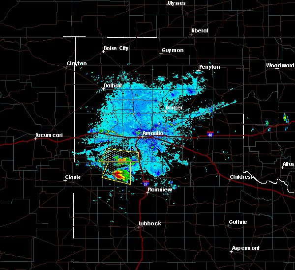 Radar Image for Severe Thunderstorms near Dimmitt, TX at 8/14/2018 9:35 PM CDT
