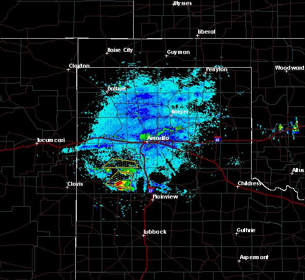 Radar Image for Severe Thunderstorms near Dimmitt, TX at 8/14/2018 9:49 PM CDT