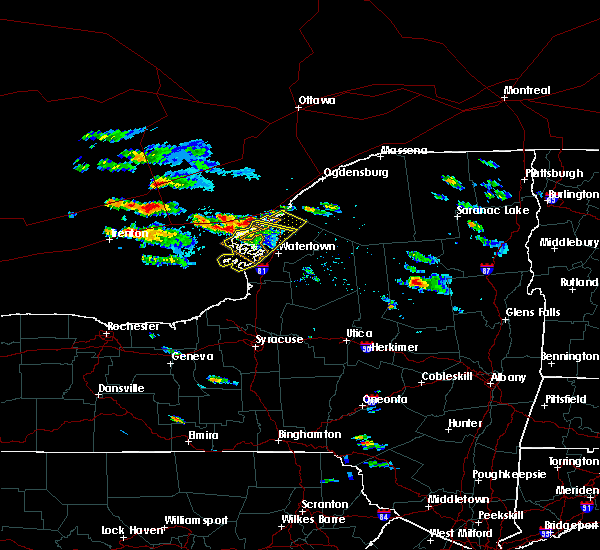 Radar Image for Severe Thunderstorms near Oxbow, NY at 8/15/2018 4:51 PM EDT