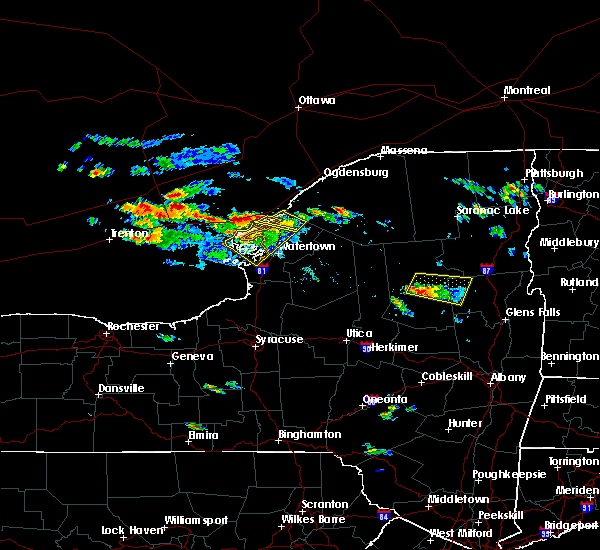 Radar Image for Severe Thunderstorms near Oxbow, NY at 8/15/2018 5:09 PM EDT