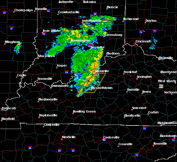 Radar Image for Severe Thunderstorms near Wellington, KY at 8/15/2018 8:34 PM EDT