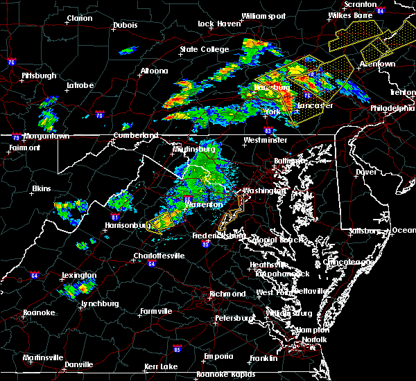 Radar Image for Severe Thunderstorms near Brightwood, VA at 8/17/2018 6:26 PM EDT