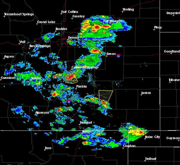 Radar Image for Severe Thunderstorms near Security-Widefield, CO at 8/17/2018 4:31 PM MDT