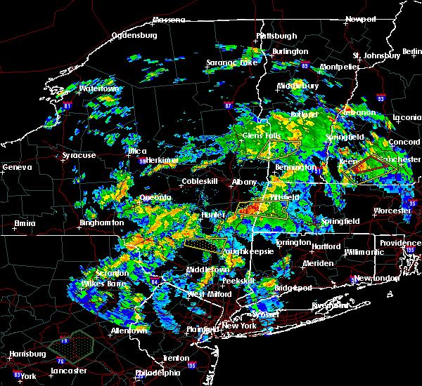 Radar Image for Severe Thunderstorms near Salem, NY at 8/17/2018 8:13 PM EDT