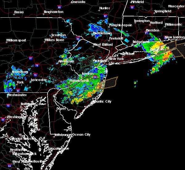 Radar Image for Severe Thunderstorms near Silver Ridge, NJ at 8/18/2018 2:51 AM EDT