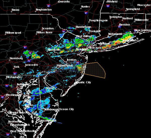 Radar Image for Severe Thunderstorms near Silver Ridge, NJ at 8/18/2018 6:42 PM EDT