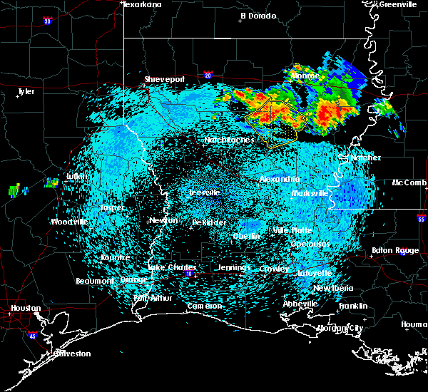 Radar Image for Severe Thunderstorms near Olla, LA at 8/20/2018 9:30 PM CDT