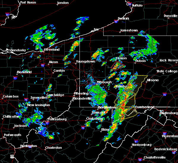 Radar Image for Severe Thunderstorms near Boswell, PA at 8/21/2018 2:43 PM EDT