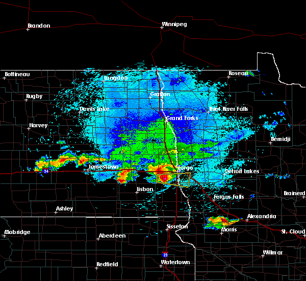 Radar Image for Severe Thunderstorms near Baker, MN at 8/26/2018 2:08 AM CDT