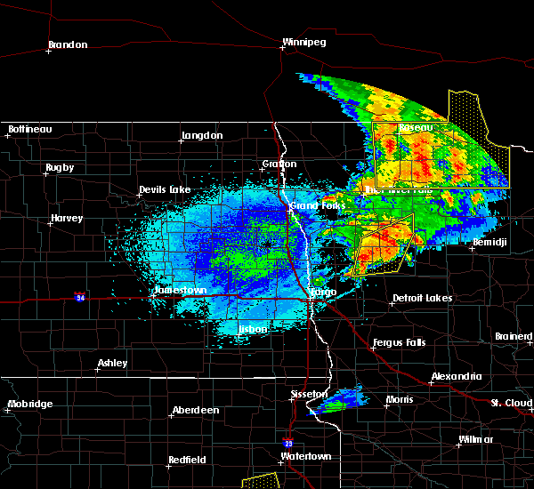Radar Image for Severe Thunderstorms near Twin Valley, MN at 8/26/2018 11:48 PM CDT