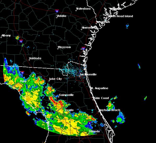 Radar Image for Severe Thunderstorms near Ocala, FL at 8/28/2018 6:10 PM EDT