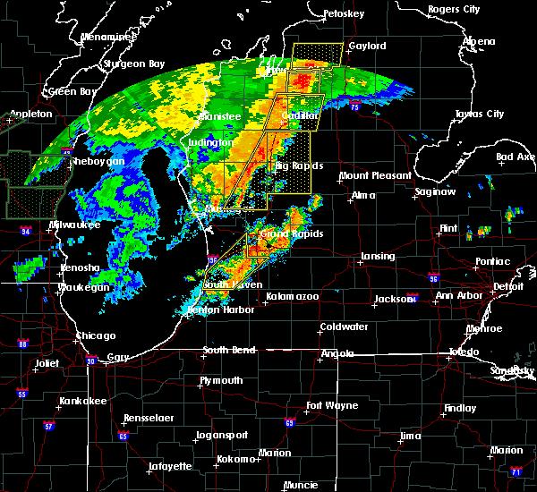 Mecosta Michigan Map.Interactive Hail Maps Hail Map For Mecosta Mi