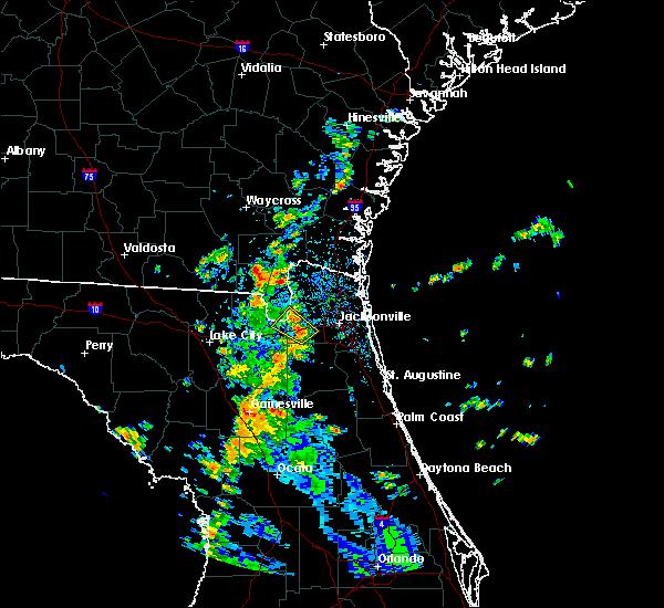 Radar Image for Severe Thunderstorms near Jacksonville, FL at 8/30/2018 2:23 PM EDT
