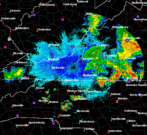 Radar Image for Severe Thunderstorms near Spencer, NC at 8/30/2018 9:52 PM EDT