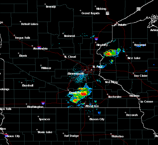 Radar Image for Severe Thunderstorms near Lewis, WI at 8/31/2018 6:52 AM CDT