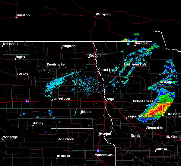 Radar Image for Severe Thunderstorms near Henning, MN at 8/31/2018 6:02 PM CDT