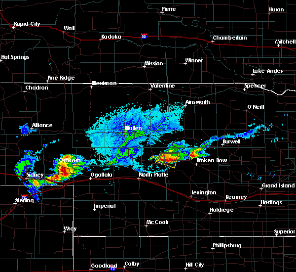 Radar Image for Severe Thunderstorms near Arnold, NE at 8/31/2018 7:04 PM CDT