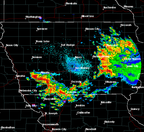 Radar Image for Severe Thunderstorms near Orient, IA at 9/1/2018 1:46 AM CDT
