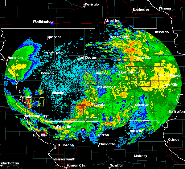Radar Image for Severe Thunderstorms near Osceola, IA at 9/1/2018 5:49 AM CDT